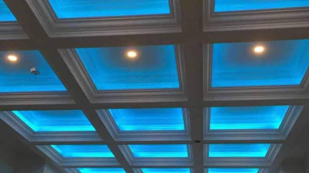 Cofferd Ceiling
