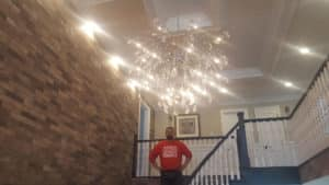 stipple ceiling removal