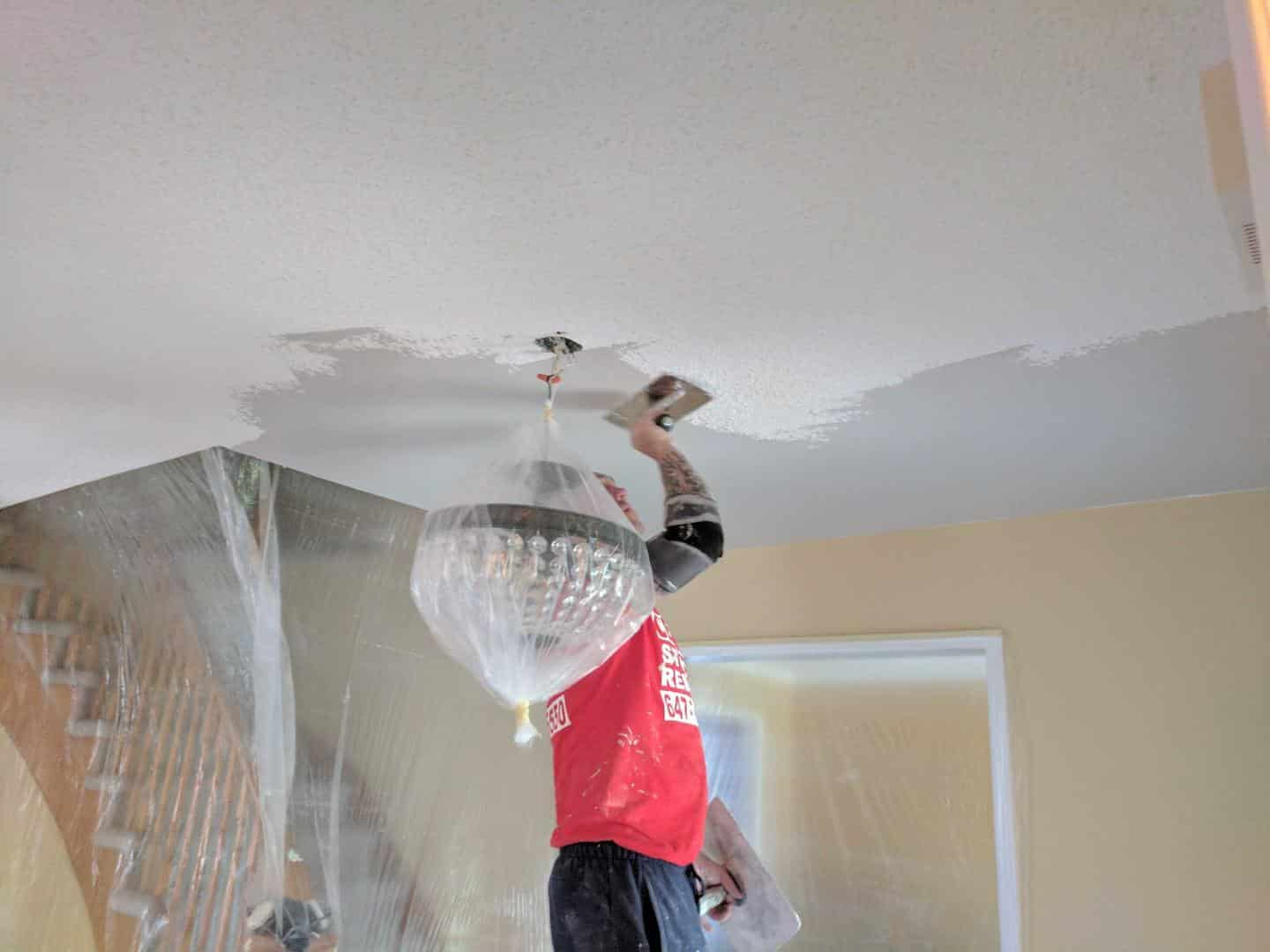 Acoustic Ceiling Removal