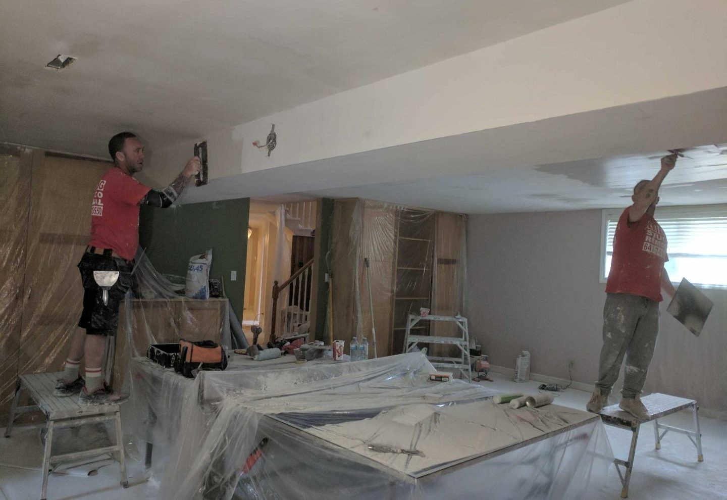 How to choose the best popcorn ceiling removal services at the best ...