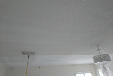 popcorn texture removal