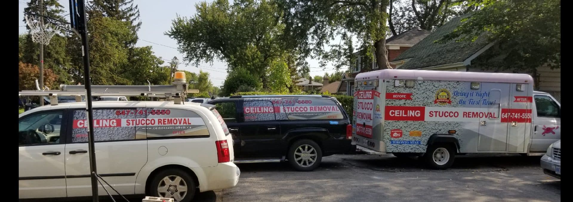 ceiling specialists trucks