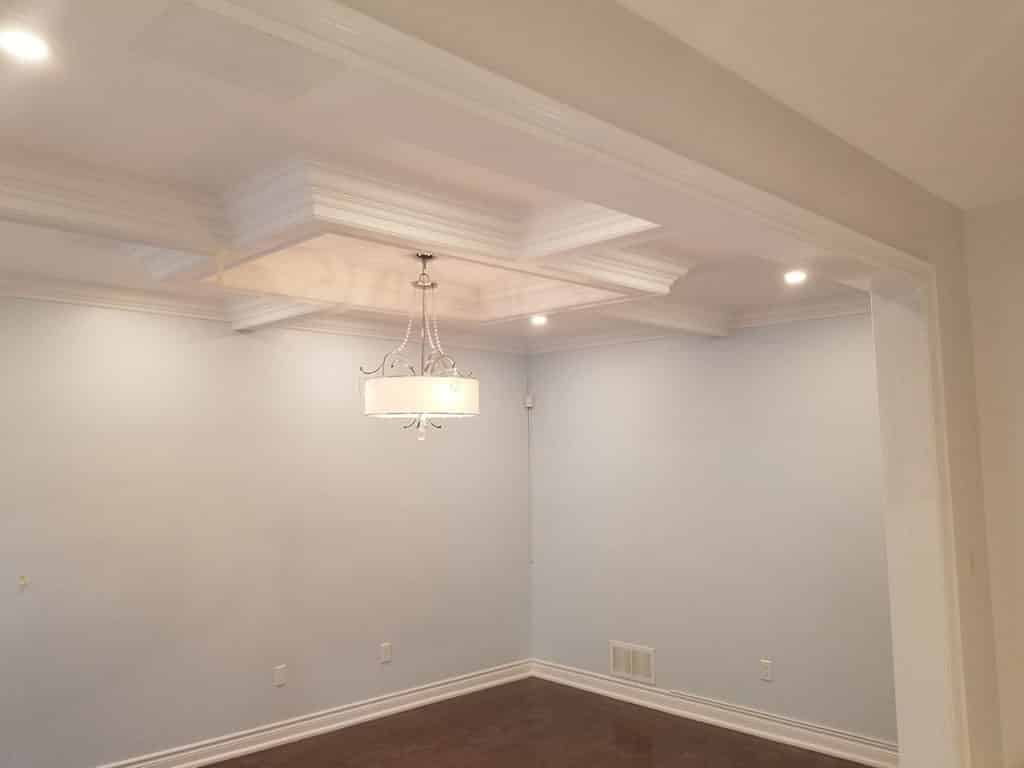 Coffered Ceiling & Potilights