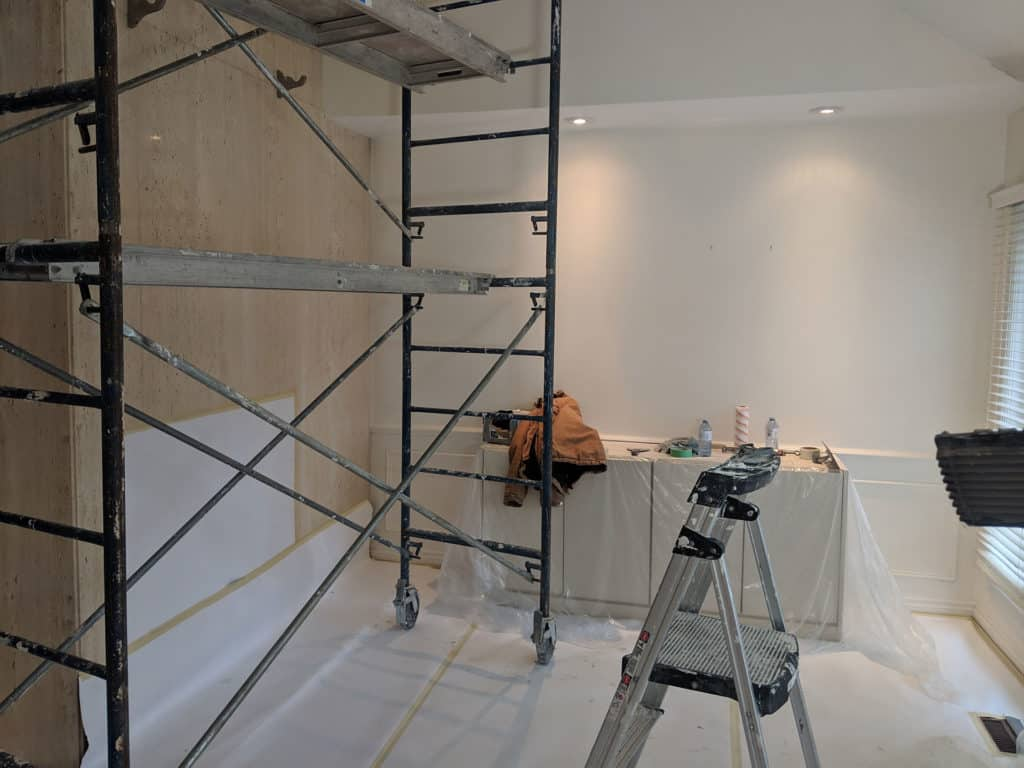 Popcorn Ceiling to Smooth Ceiling