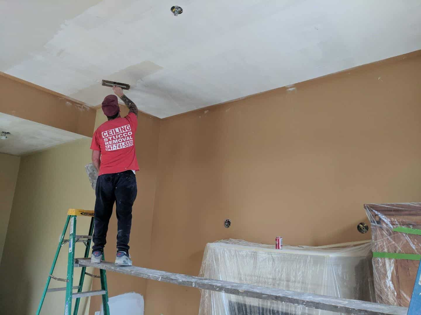 Popcorn ceiling removal Toronto